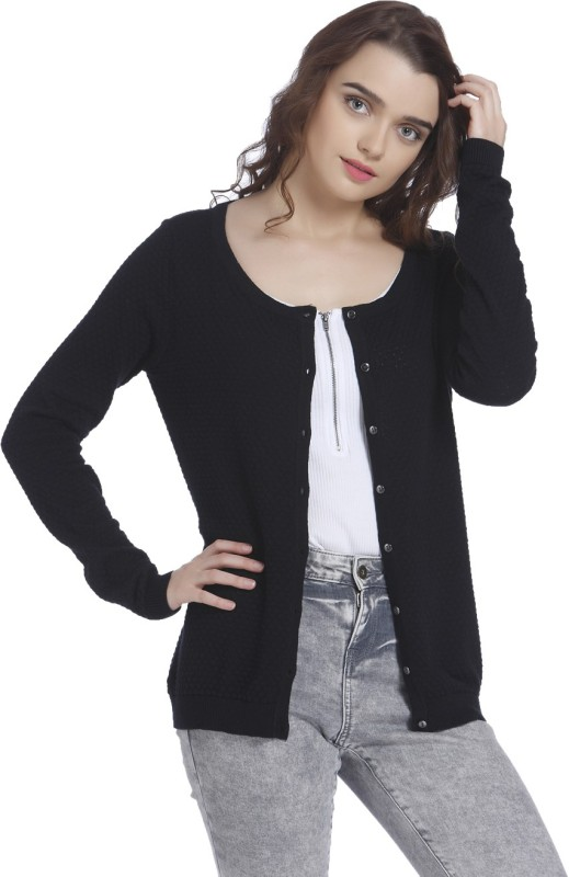 Vero Moda Women Solid Cardigan