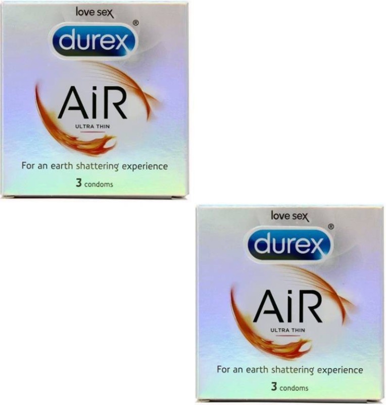 Durex air ultra thin 3s Condom(Set of 2, 3S)