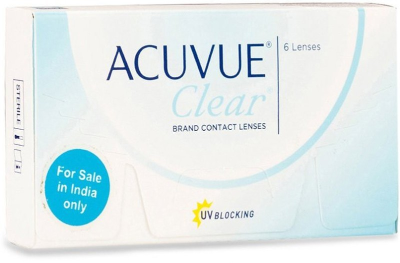 Johnson & Johnson Acuvue Clear Monthly Contact Lens(-4.75, Transparent, Pack of 6)