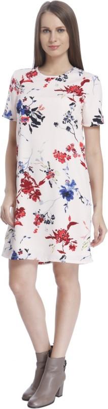 Vero Moda Womens Shift Beige Dress