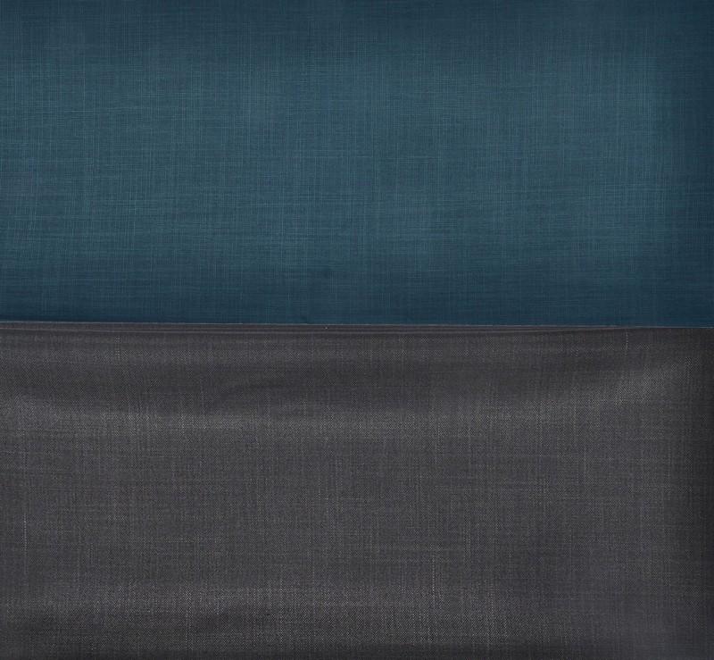 GWALIOR Polycotton Solid Shirt & Trouser Fabric(Semi Stitched)