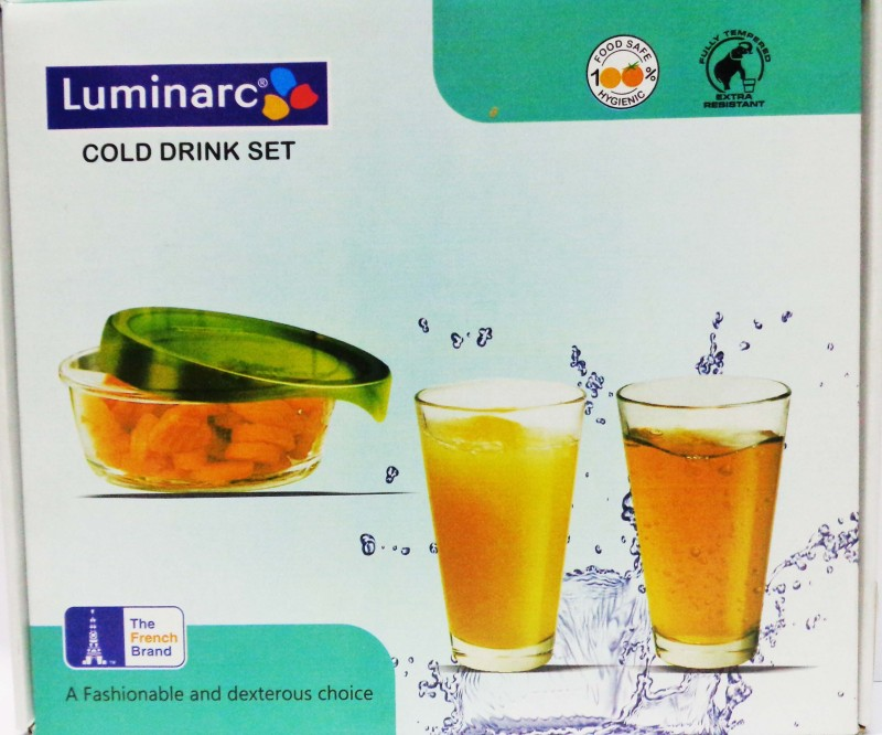 LUMINARC AP3400 Glass Set(25 ml, White, Pack of 7)