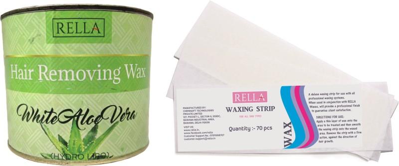RELLA White Aloe Vera Combo Wax(600 g)