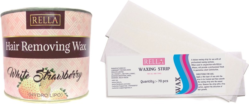 RELLA White Strawberry Combo Wax(600 g)
