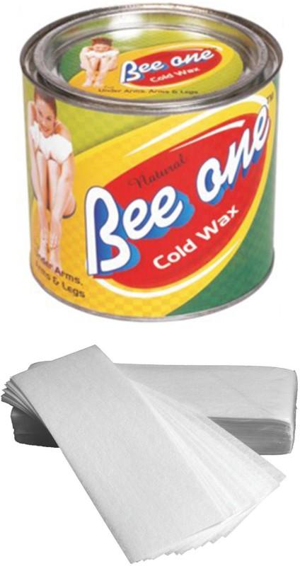 GoodsBazaar Beeone Cold Wax with 50 Waxing Strips (600 gm) Wax(600 g)