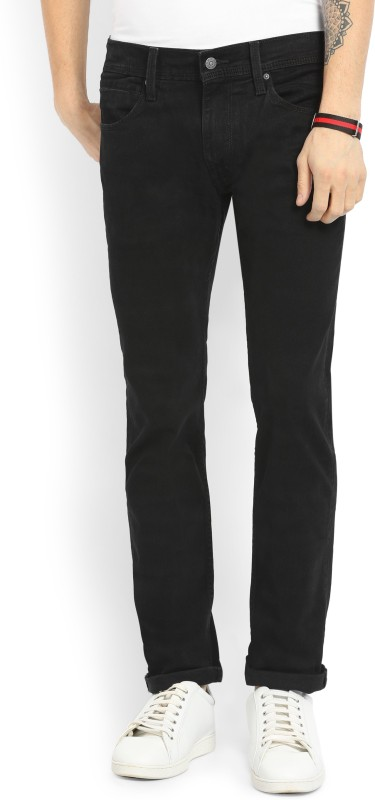 Levis Slim Mens Black Jeans