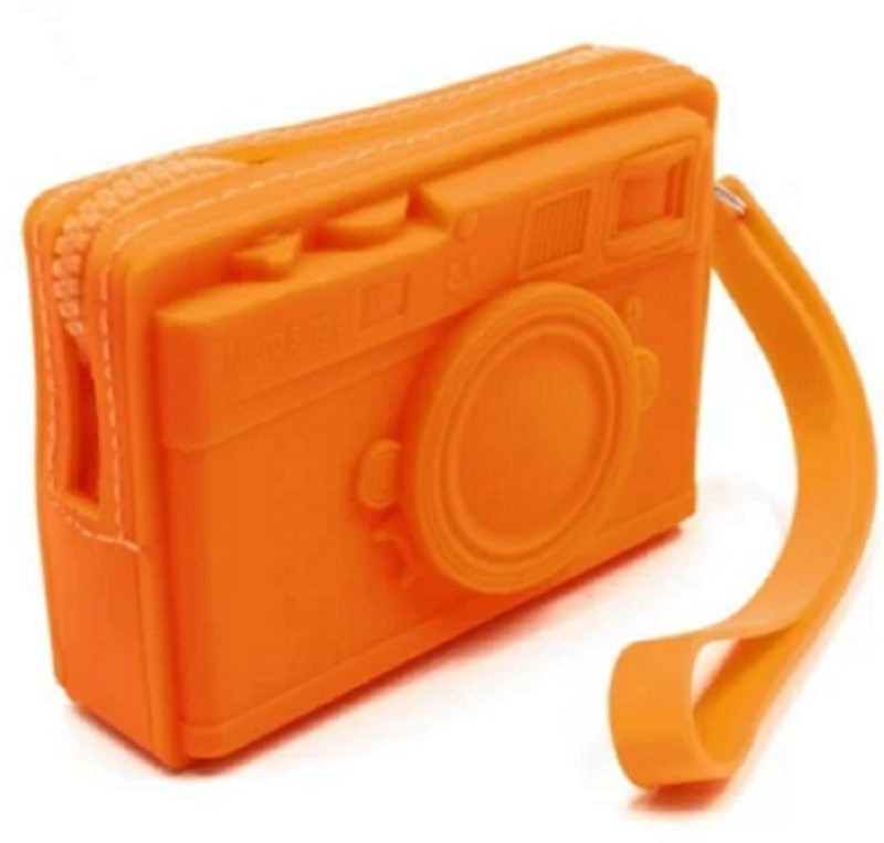 SND 3D Camera Design Silicone Coin Purse Wallet Coin Purse(Multicolor)
