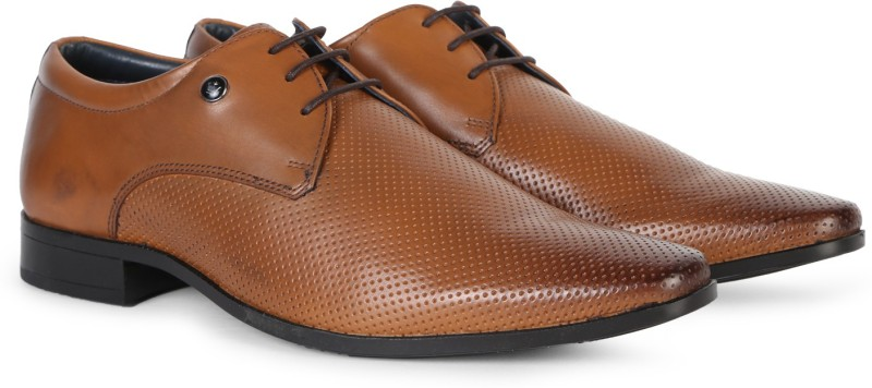 Louis Philippe Lace Up For Men(Brown)