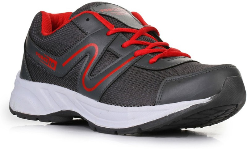 Liberty Force 10 Running Shoes For Men(Grey)
