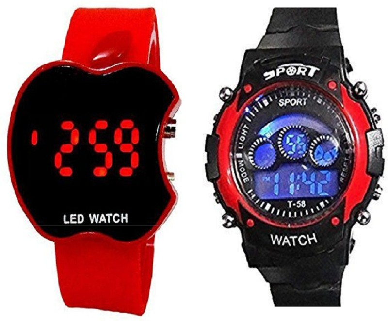 blutech new styles redsports and red apple kids combo Watch - For Boys