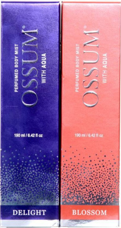 Ossum Body Mist Combo Set(Set of 2)