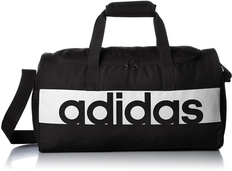 Adidas LIN PER TB S (Expandable) Travel Duffel Bag(Black)