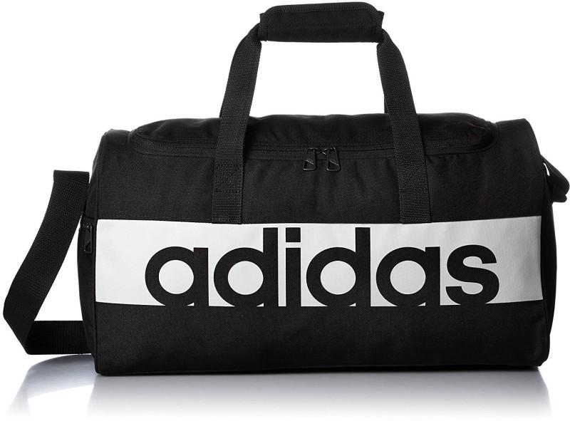 2a6c3c944cb1 6%off Adidas LIN PER TB S (Expandable) Travel Duffel Bag(Black)