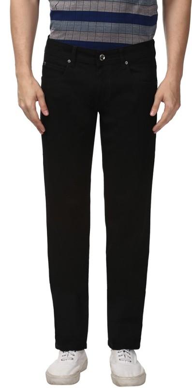 Park Avenue Slim Mens Black Jeans