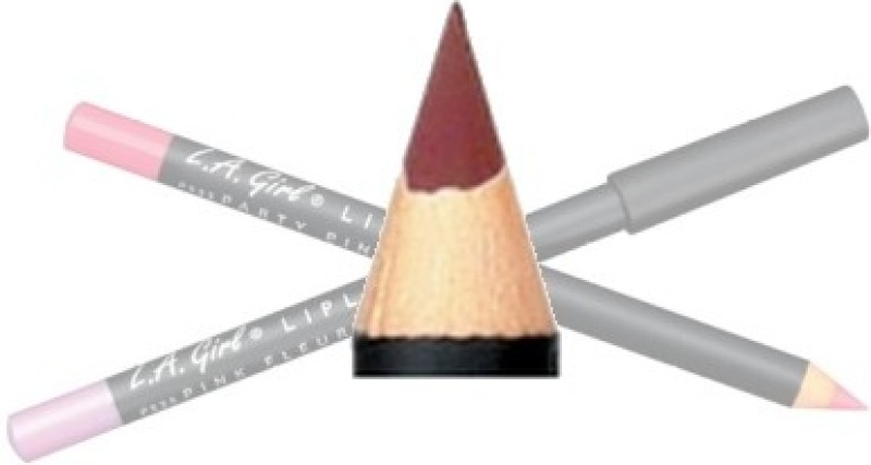 L.A. Girl Cosmetics Collection Lipliner Pencil(Eggplant)