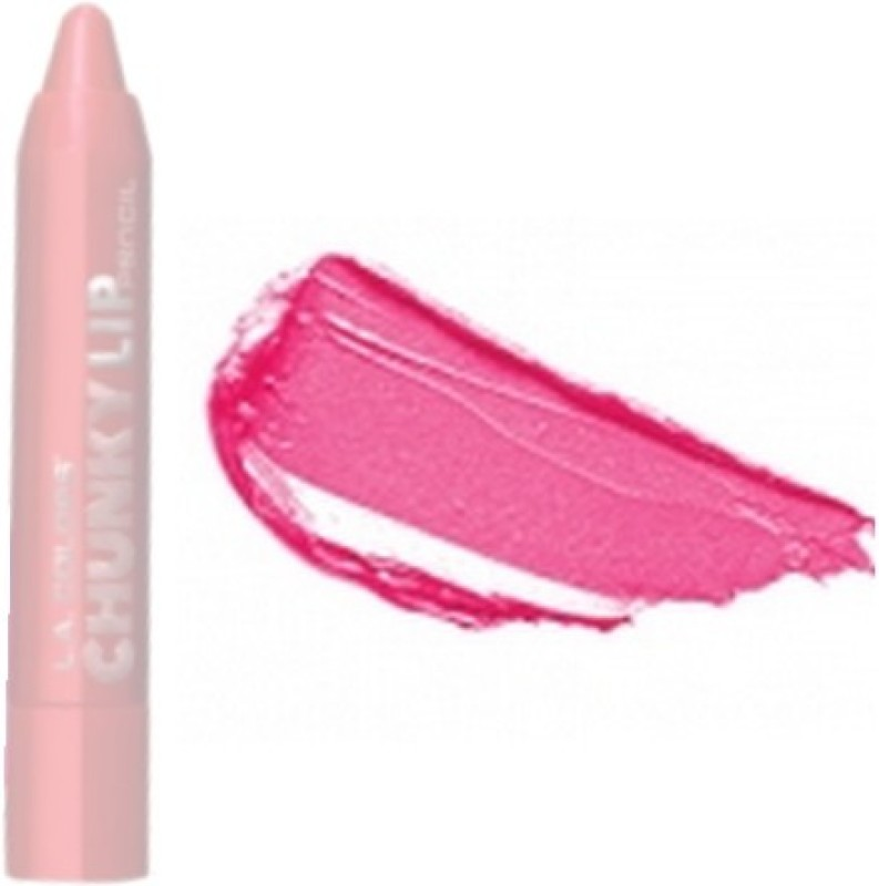 L.A. Colors Chunky Lip Pencil(Hot Pink)