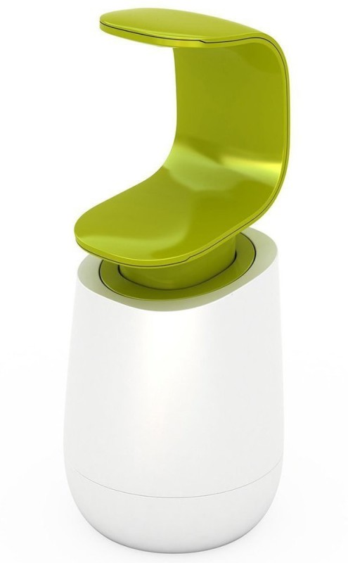 Insasta C Shape Soap Sanitizer Liquid Dispenser-Green 180 ml Shampoo Dispenser