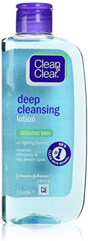 Clean & Clear Deep Cleansing Lotion - Sensitive(200 ml)