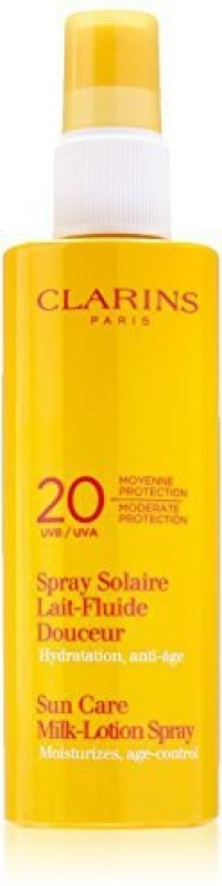 Clarins Moderate Protection UVB UVA 20 Sun Care MilkLotion(156.74 ml)
