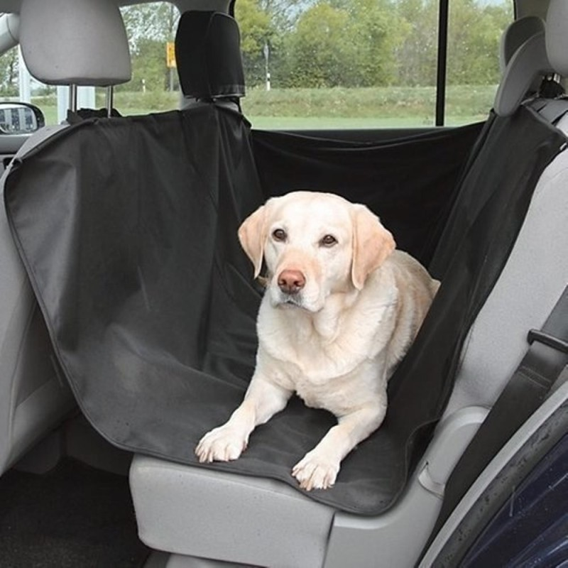 Foodie Puppies Durable, Fits all vehicles Hammock Pet Seat Cover(Black Waterproof)