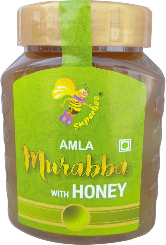 SUPER BEE Amla Murabba with Honey Amla Murabba(500 g)