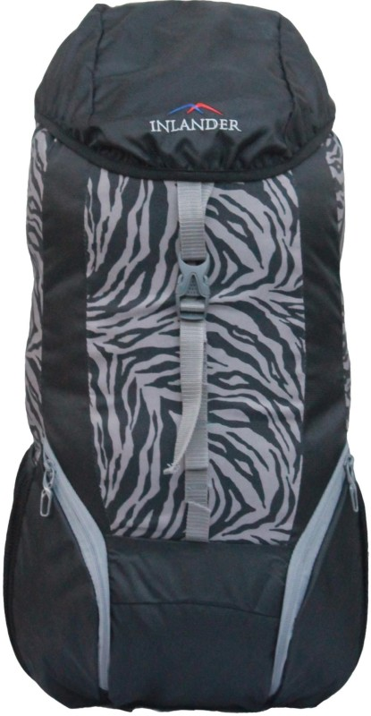 Inlander 1011-1 Hiking Trekking Daypack Backpack Rucksack - 35 L(Grey, Black)