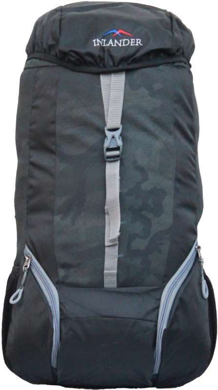 Inlander 1011-1 Hiking Trekking Daypack Backpack Rucksack - 35 L(Black)