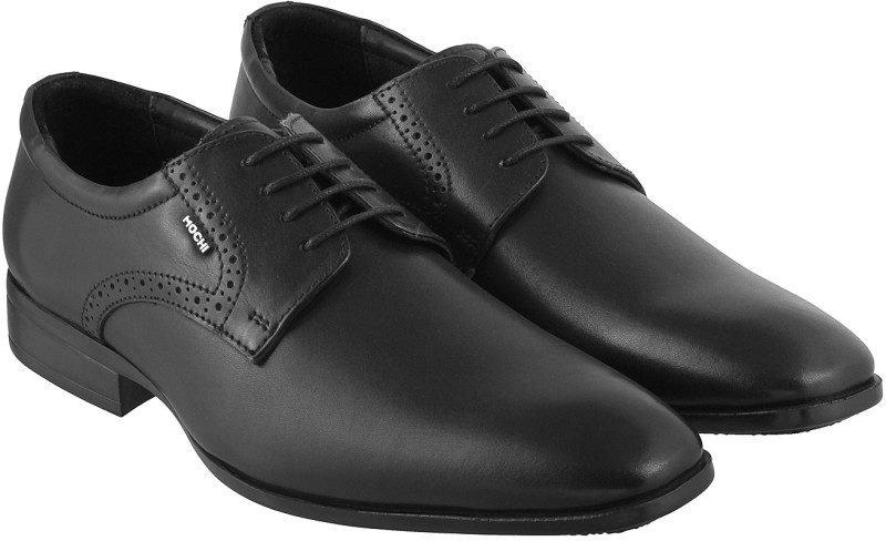 Mochi Stylish Derby For Men(Black)