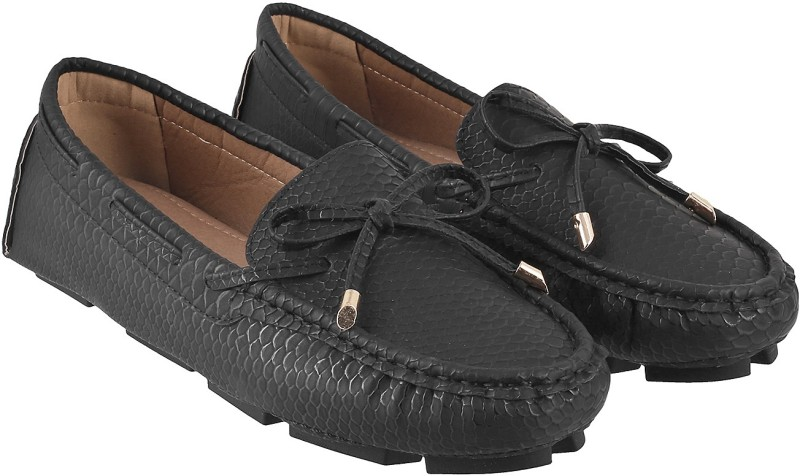 Mochi Trendy Mocassin For Women(Black)