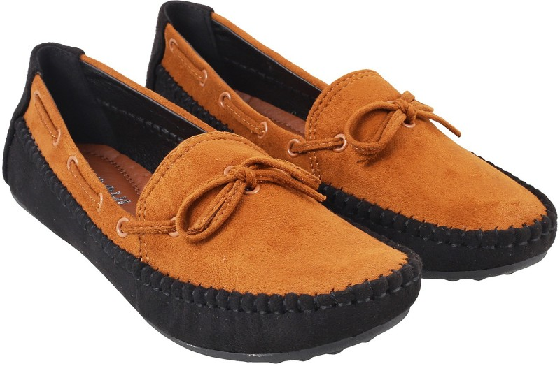Mochi Trendy Loafers For Women(Multicolor)