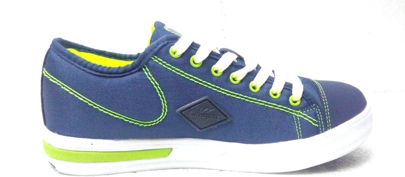 Campus Running Shoes For Men(Navy, Green)
