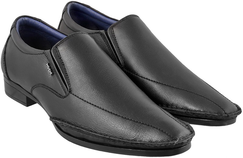 Mochi Stylish Slip On For Men(Black)