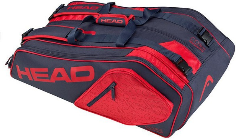 Head Core 9R Supercombi Tennis Kit Bag(Red, Kit Bag)