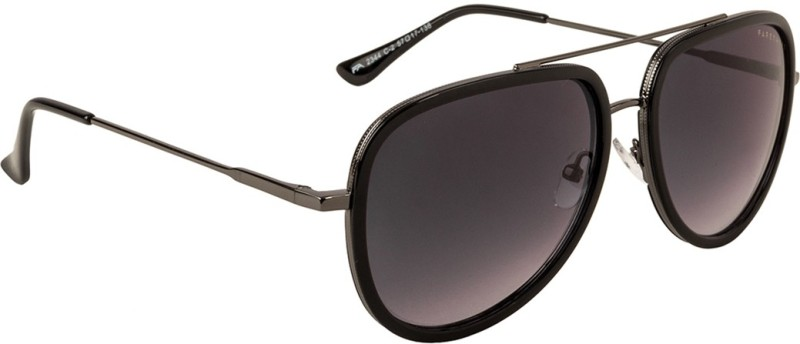 Farenheit Aviator Sunglasses(Black)