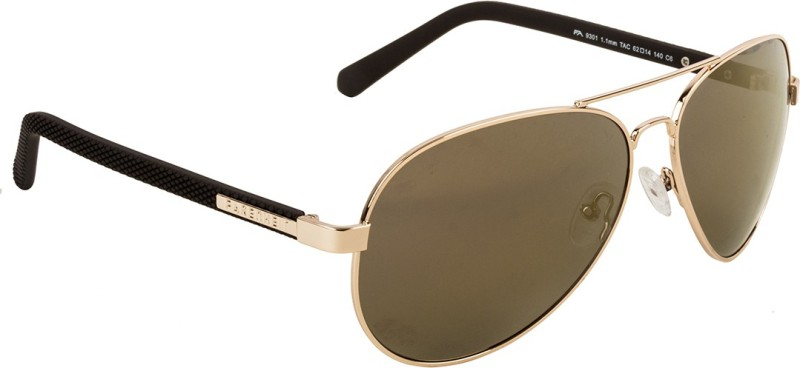Farenheit Aviator Sunglasses(Golden)