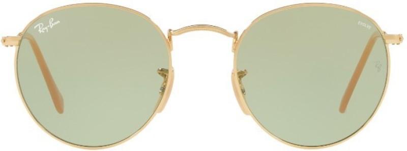 Ray-Ban Oval Sunglasses(Green)