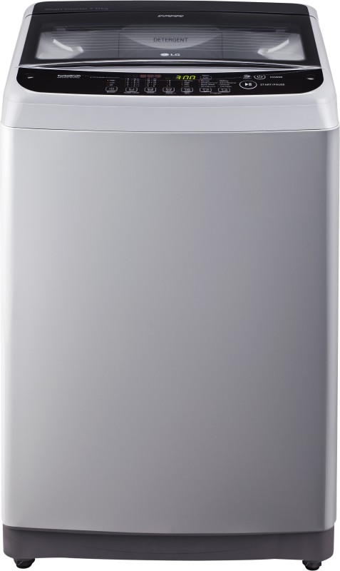 LG 7 kg Fully Automatic Top Load Washing Machine Silver(T8081NEDLJ)