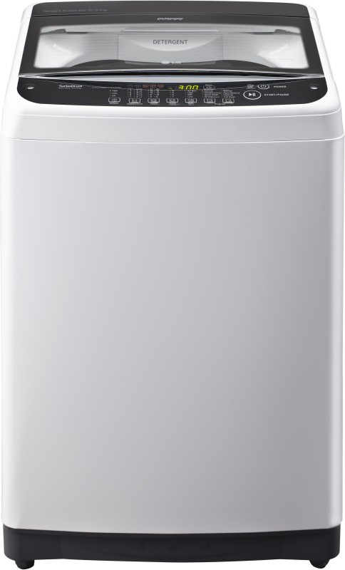 LG 6.5 kg Fully Automatic Top Load Washing Machine White(T7581NEDLZ)