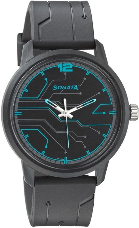 Sonata 77085PP02 Volt Analog Watch - For Men