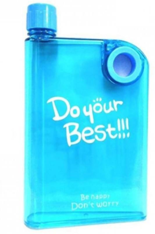 A2Z A5 Memo Flat Portable 420 ml Bottle(Pack of 1, Multicolor)