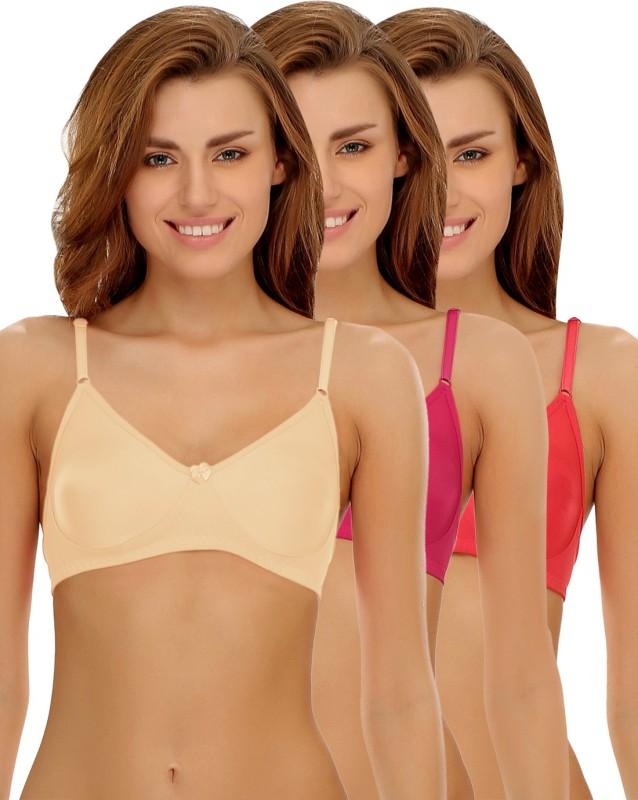Clovia PRO Women Full Coverage Non Padded Bra(Multicolor)