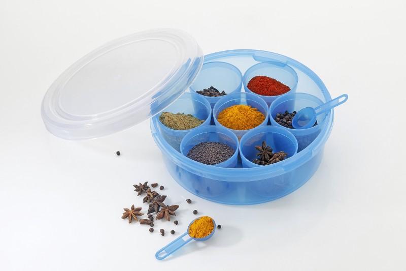 Flipkart SmartBuy SPICE BOX  - 1200 ml Plastic Spice Container(Blue)