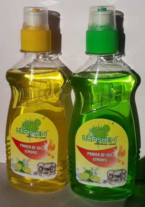 washen ULTRA Dish Cleaning Gel(LEMON, 2 x  250 ml)