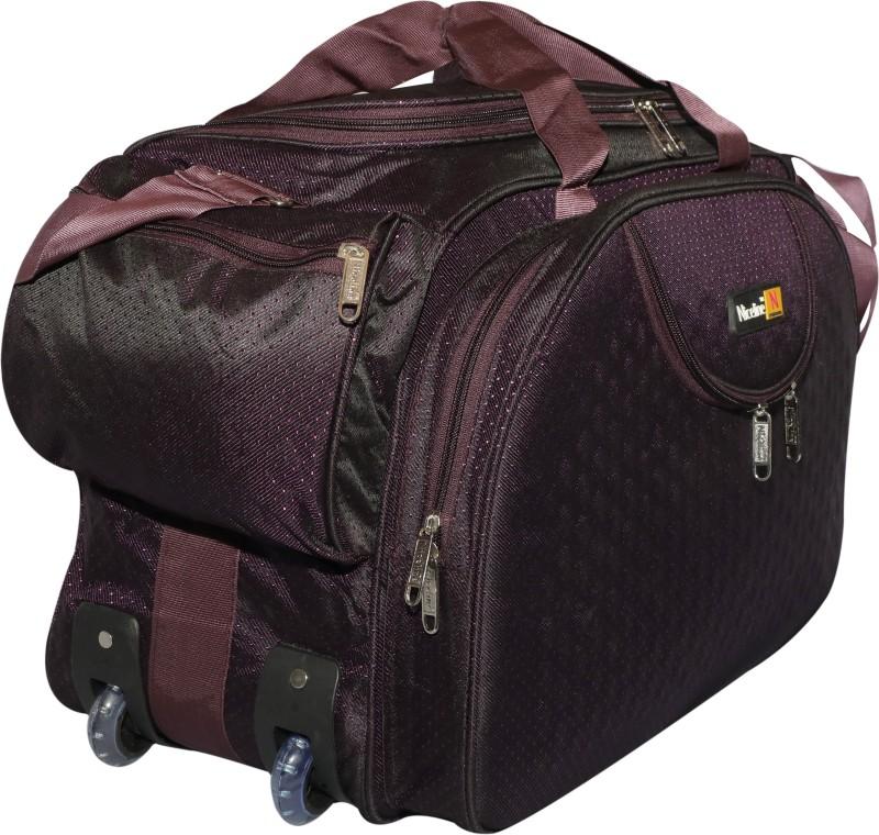 Inte Enterprises 30 inch/76 cm (Expandable) ncpurple Duffel Strolley Bag(Purple)