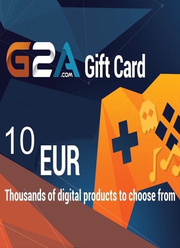 G2A Gift Card 10 EUR for PC