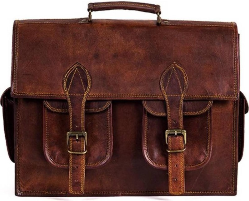 SN Men Tan Messenger Bag