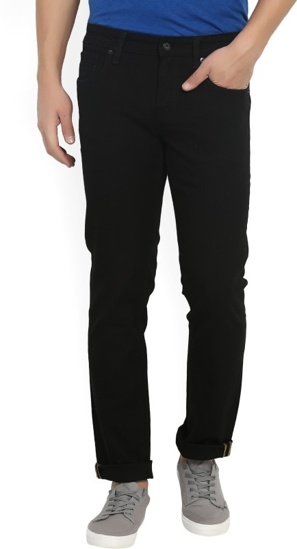 Indian Terrain Slim Mens Black Jeans