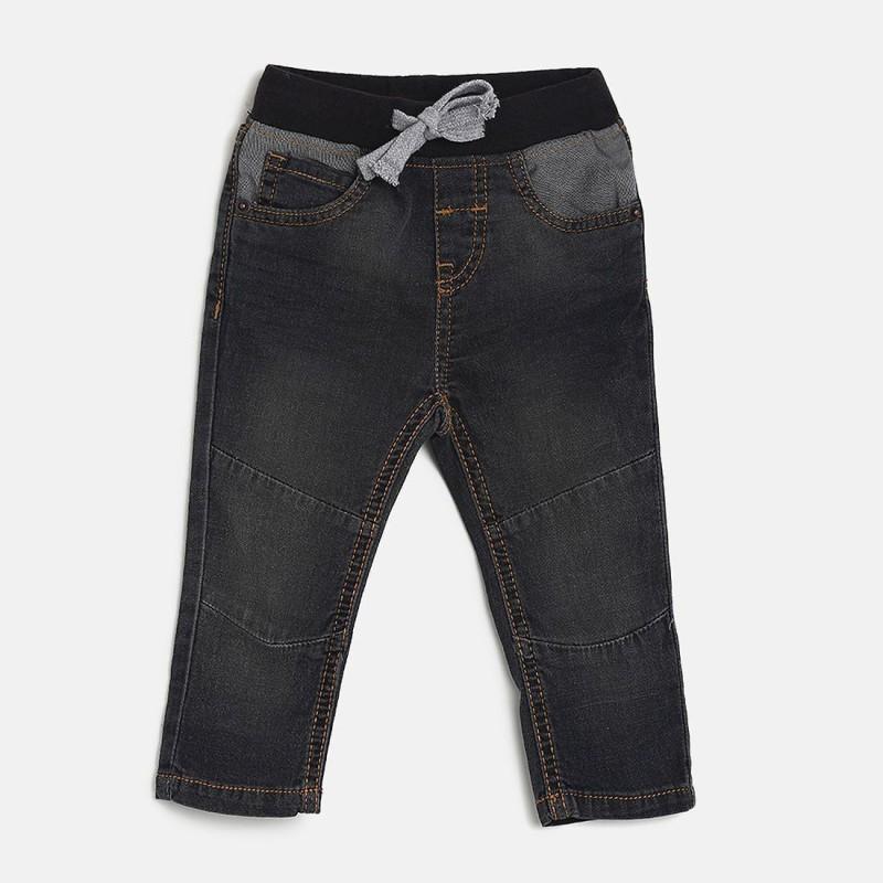 Mini Klub Regular Baby Boys Grey Jeans