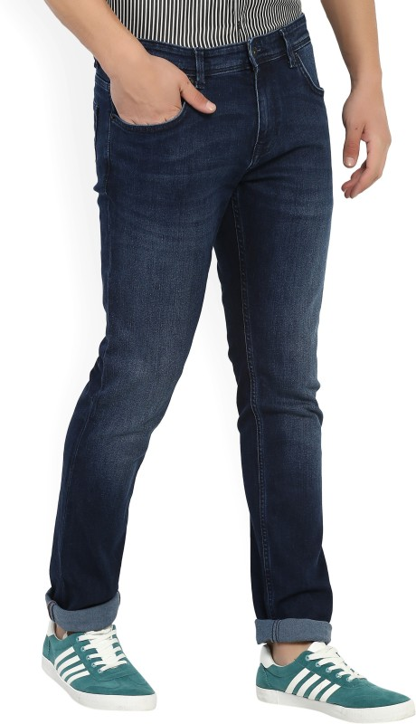 Indian Terrain Slim Mens Dark Blue Jeans