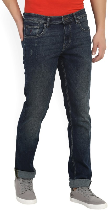 Indian Terrain Slim Mens Blue Jeans